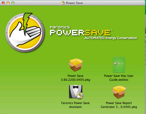 Power Save Mac